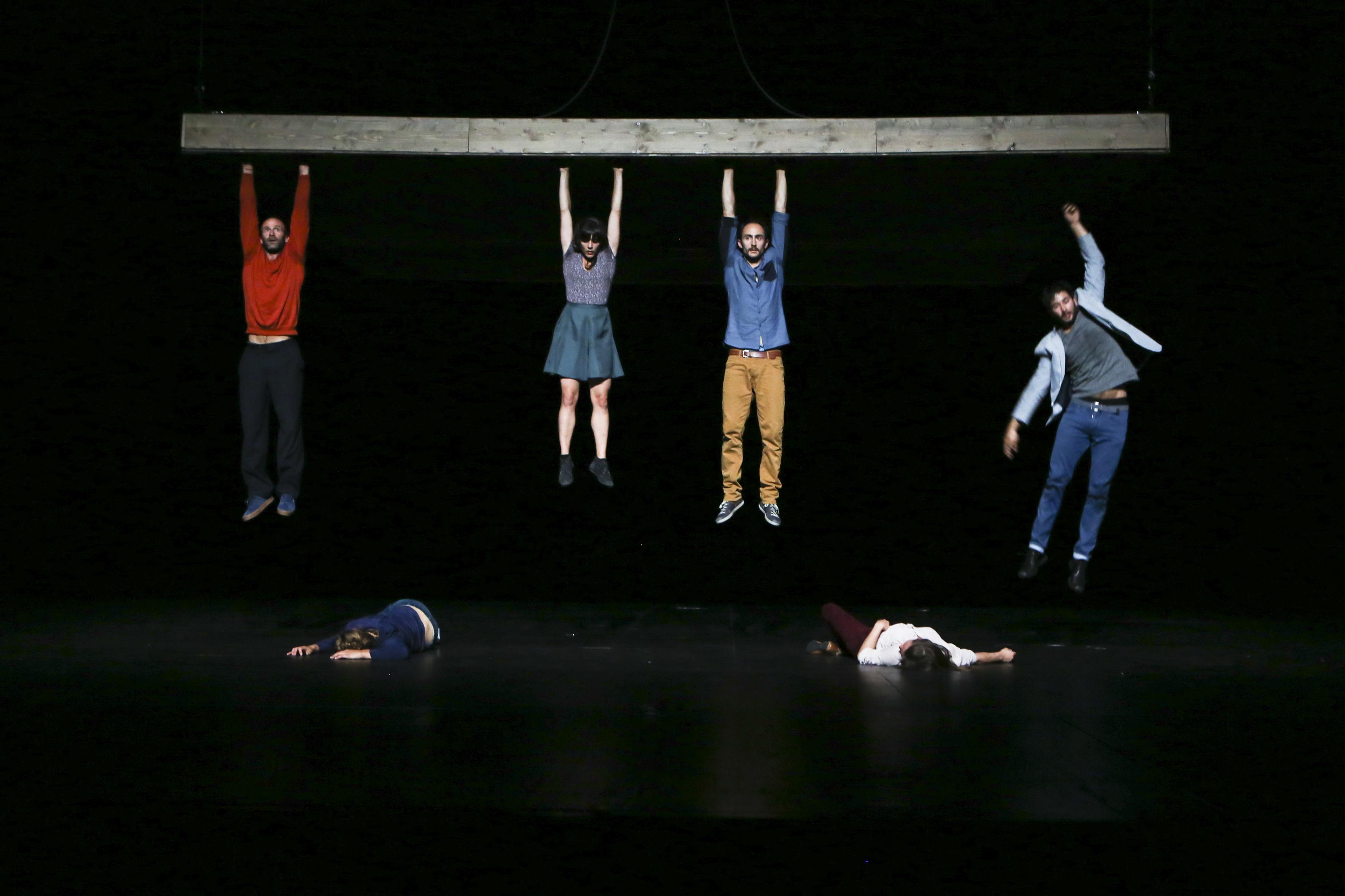 Celui qui tombe Foto: Géraldine Aresteanu
