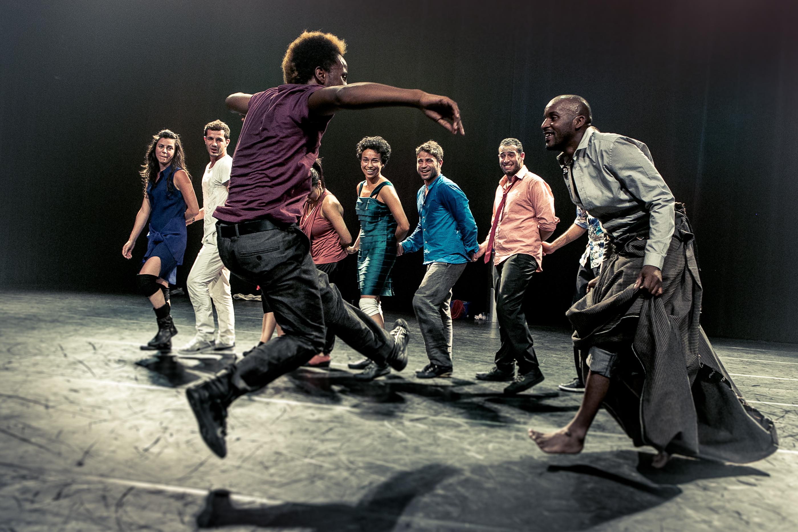 Badke av Les Ballets C de la B Foto: Danny Willems