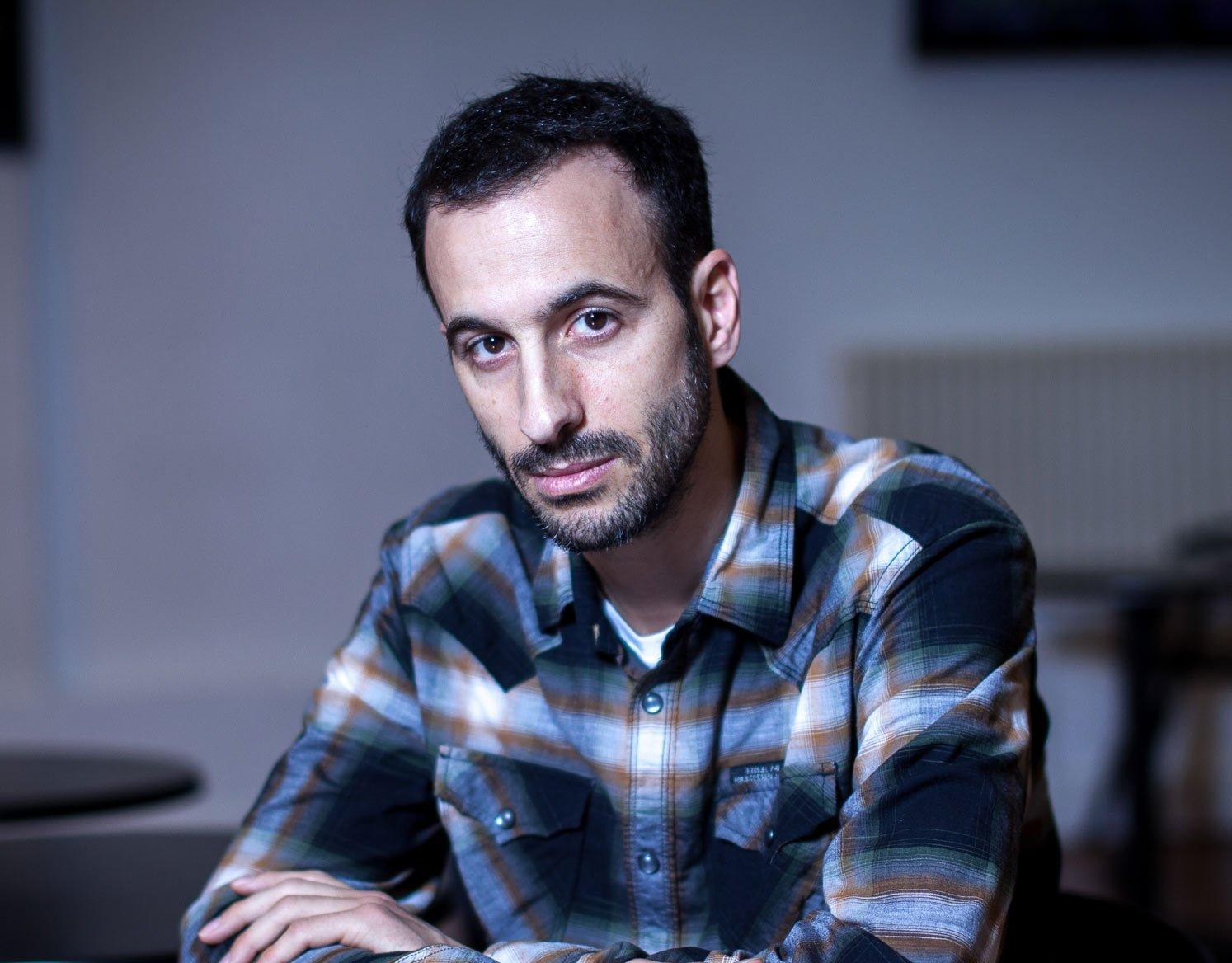 Porträtt av koreografen Hofesh Shechter